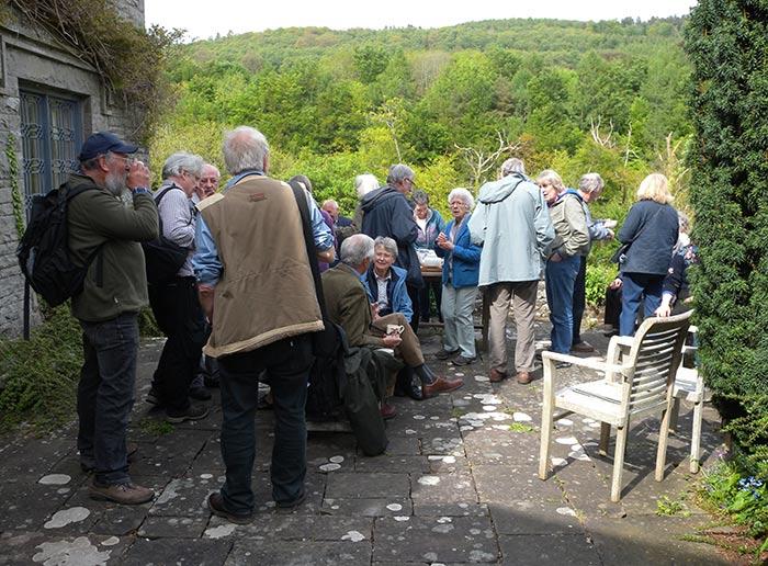 Brecknock Society visiting Llangynidr