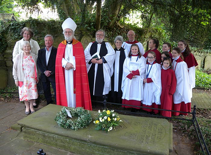 Annual Henry Vaughan Service at Llansantffraed Church