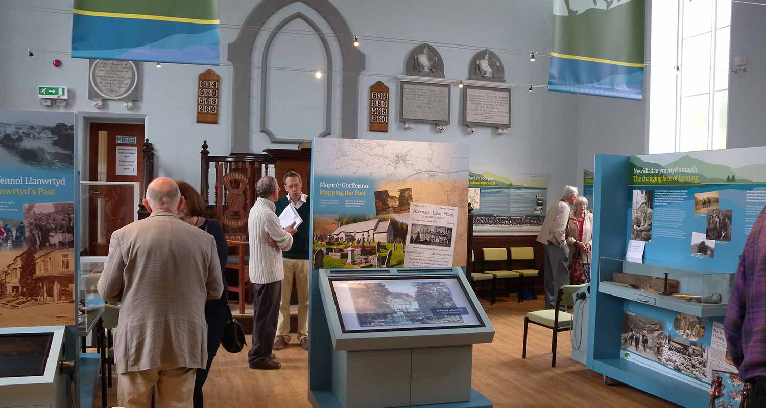 Brecknock Society and Museum Friends Visit to Llanwrtyd Wells Heritage Centre