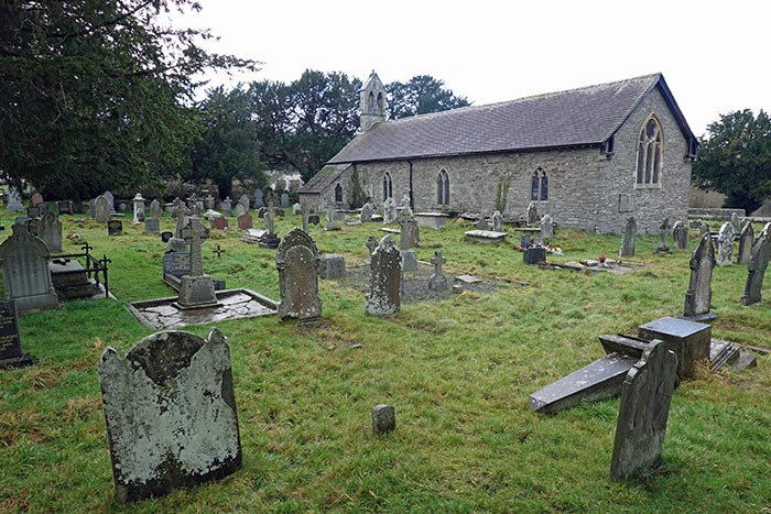 Llanspyddid Church in the Diocese of Swansea and Brecon, in the community of Glyn Tarell in the county of Powys